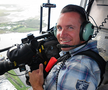 Matt Guest professional camera operator Queensland Australia